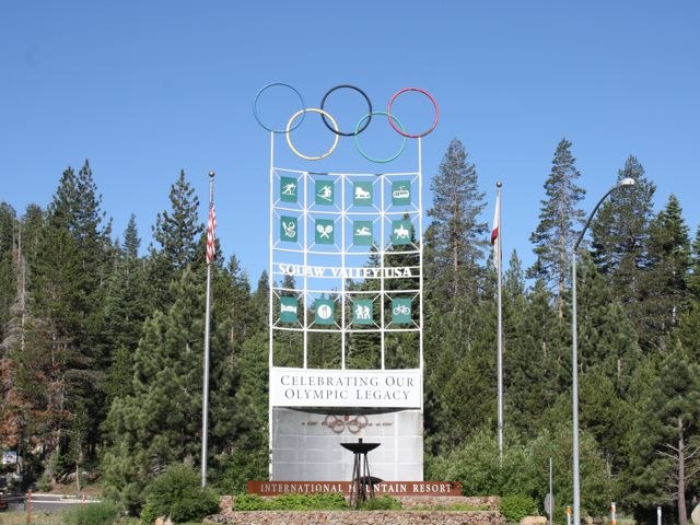 Entrance to Squaw Valley