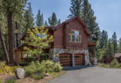 A magnificent mountain home in Tahoe Donner