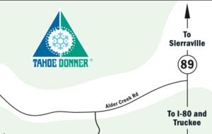 Tahoe Donner Real Estate Street Map